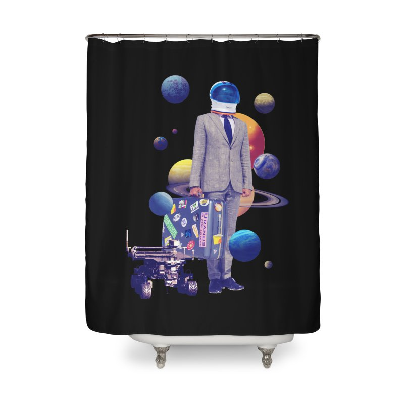 Voyager Home Shower Curtain by Tentimeskarma