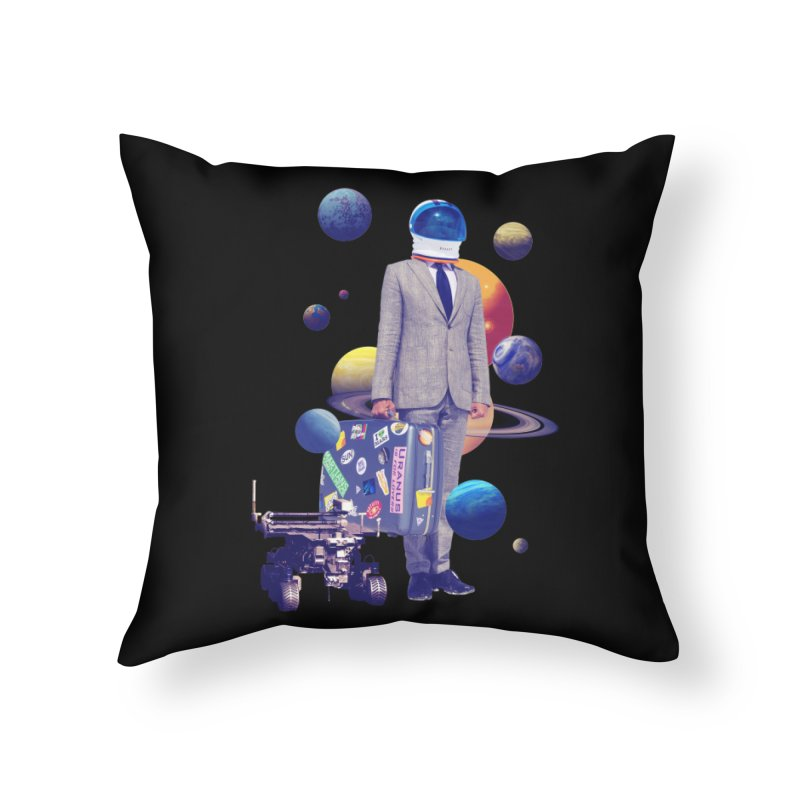 Voyager Home Throw Pillow by Tentimeskarma