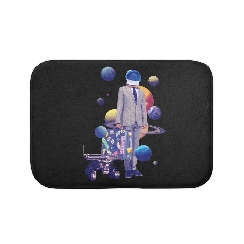 Voyager Home Bath Mat by Tentimeskarma