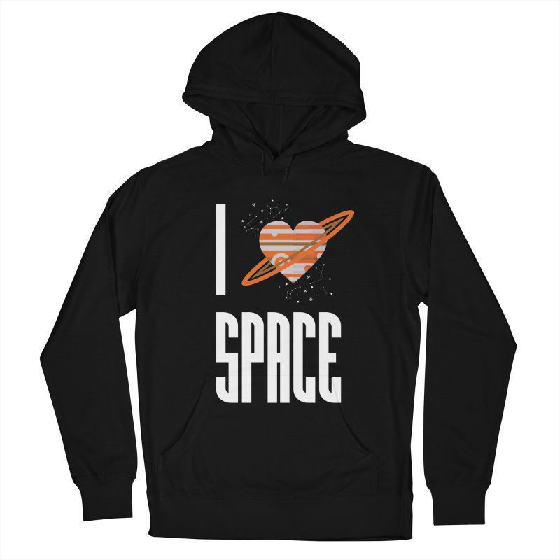 I Heart Space Men's Pullover Hoody by Tentimeskarma