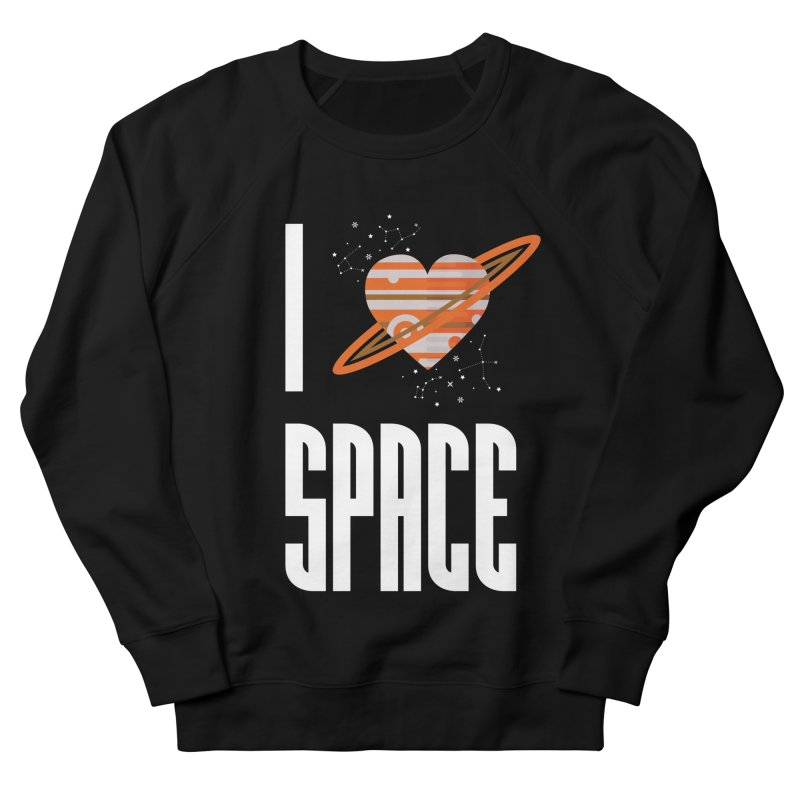 I Heart Space Women's French Terry Sweatshirt by Tentimeskarma