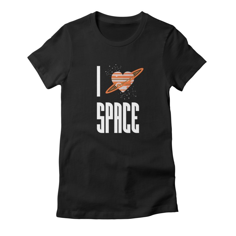 I Heart Space Women's T-Shirt by Tentimeskarma