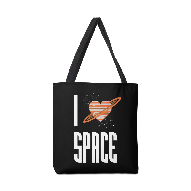 I Heart Space Accessories Tote Bag Bag by Tentimeskarma