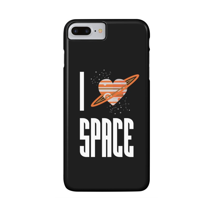 I Heart Space Accessories Phone Case by Tentimeskarma