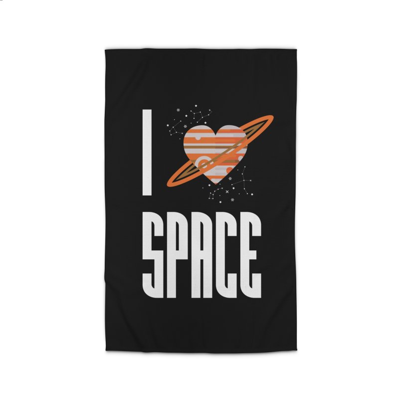 I Heart Space Home Rug by Tentimeskarma
