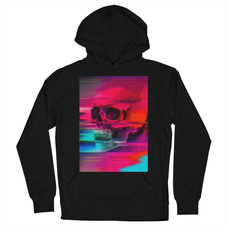 Mortality Glitch Men's French Terry Pullover Hoody by Tentimeskarma