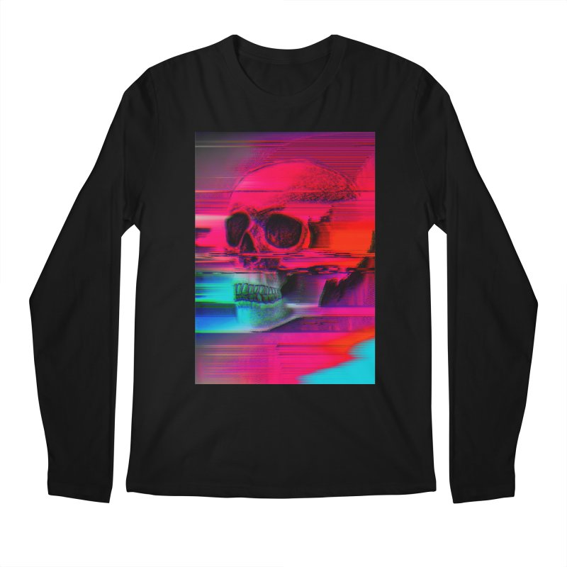 Mortality Glitch Men's Regular Longsleeve T-Shirt by Tentimeskarma
