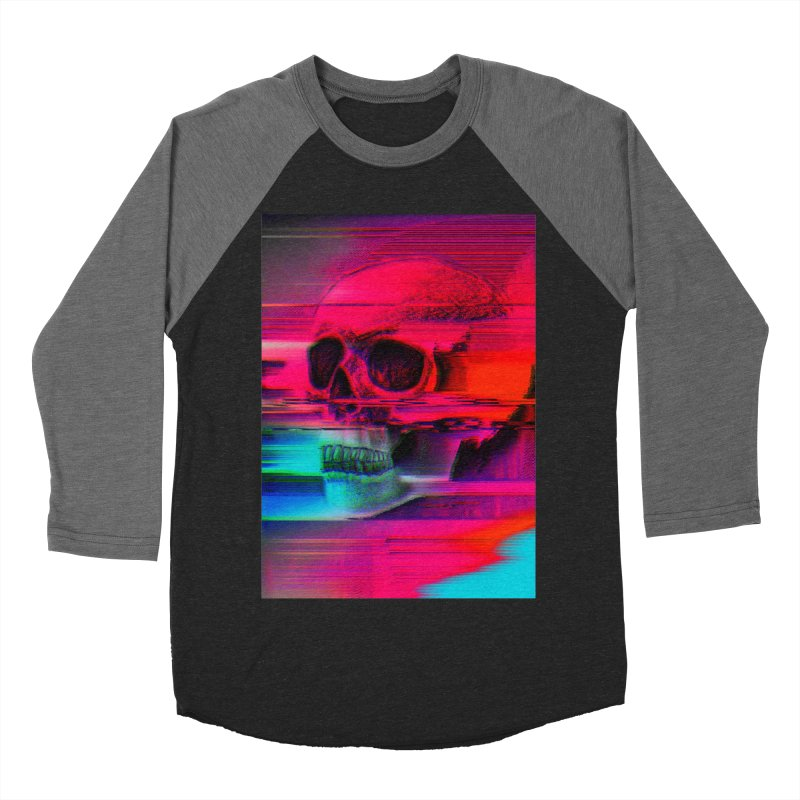 Mortality Glitch Men's Baseball Triblend Longsleeve T-Shirt by Tentimeskarma
