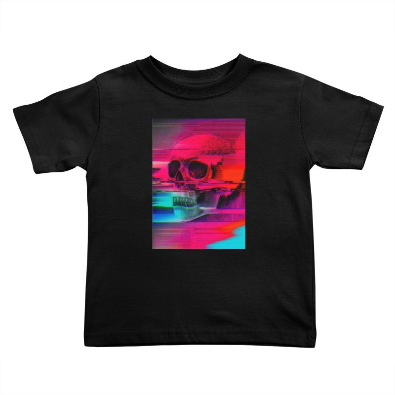 Mortality Glitch Kids Toddler T-Shirt by Tentimeskarma