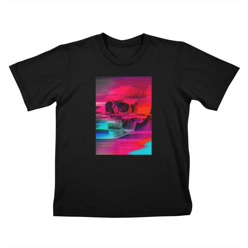 Mortality Glitch Kids T-Shirt by Tentimeskarma