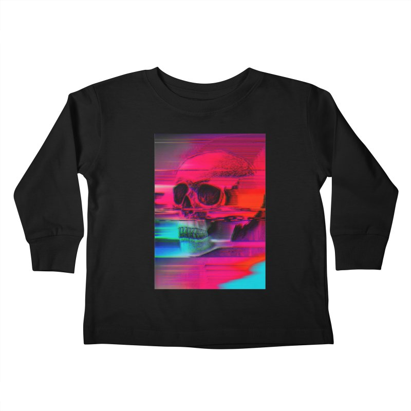 Mortality Glitch Kids Toddler Longsleeve T-Shirt by Tentimeskarma