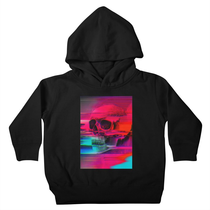 Mortality Glitch Kids Toddler Pullover Hoody by Tentimeskarma