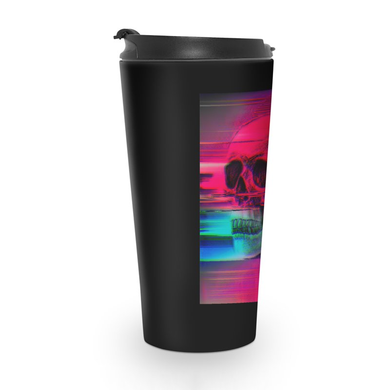 Mortality Glitch Accessories Travel Mug by Tentimeskarma