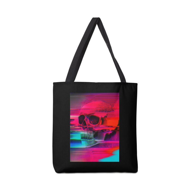 Mortality Glitch Accessories Tote Bag Bag by Tentimeskarma