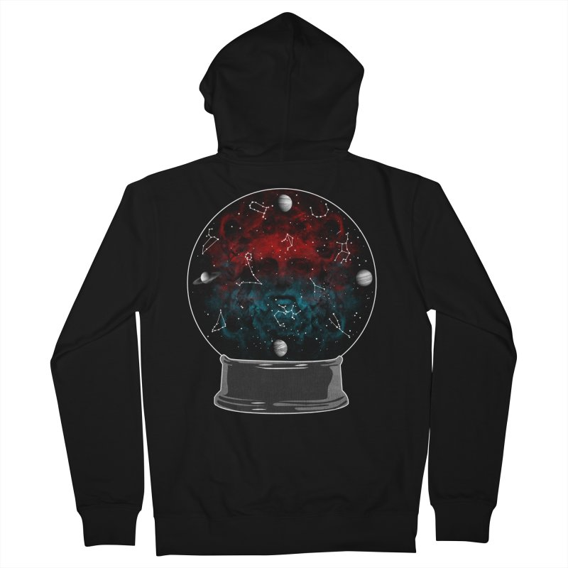 Star Gazing Men's French Terry Zip-Up Hoody by Tentimeskarma