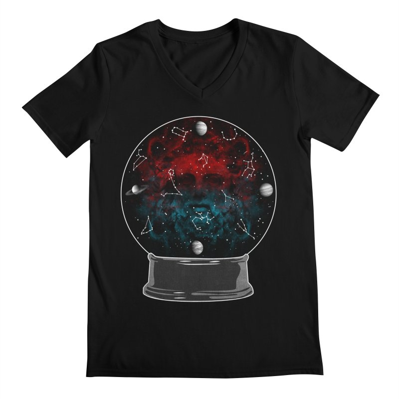 Star Gazing Men's Regular V-Neck by Tentimeskarma