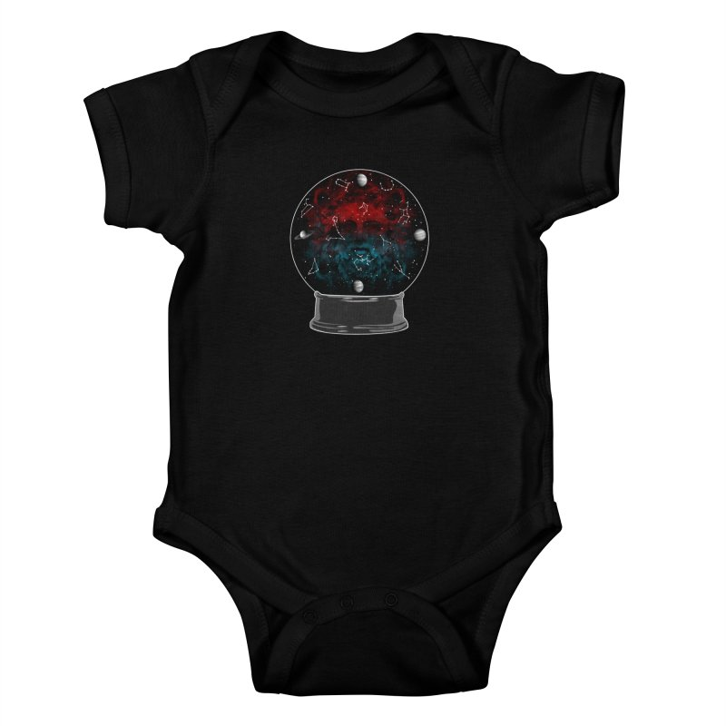 Star Gazing Kids Baby Bodysuit by Tentimeskarma