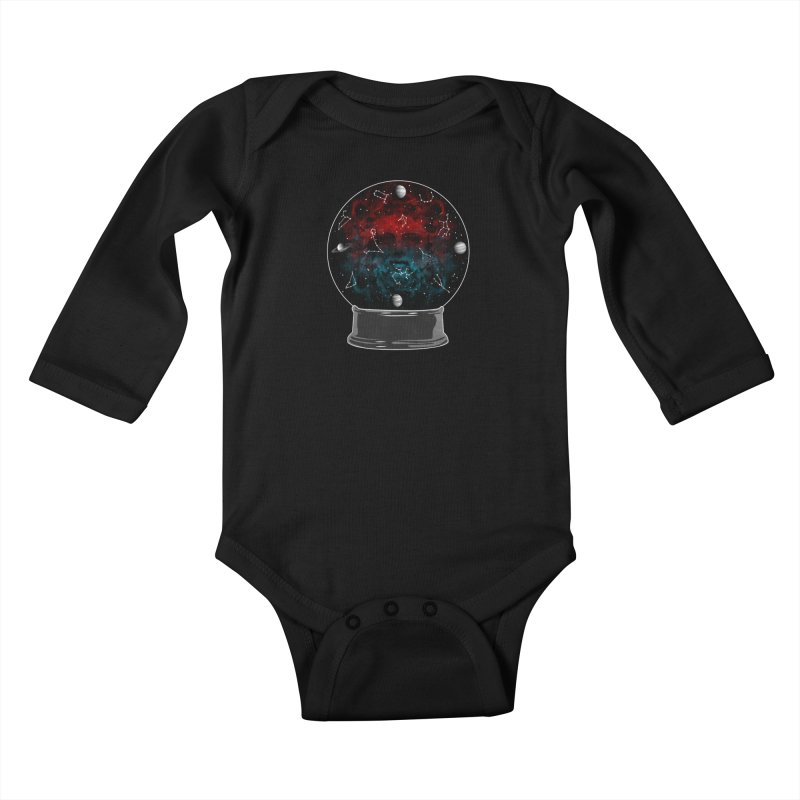 Star Gazing Kids Baby Longsleeve Bodysuit by Tentimeskarma