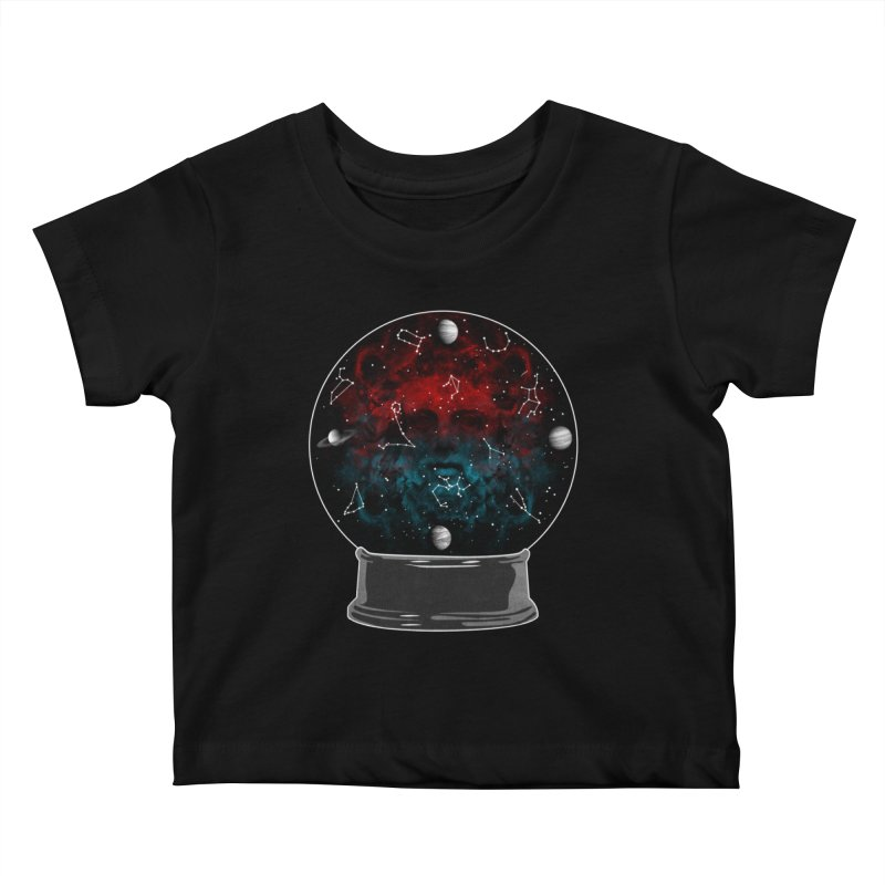 Star Gazing Kids Baby T-Shirt by Tentimeskarma
