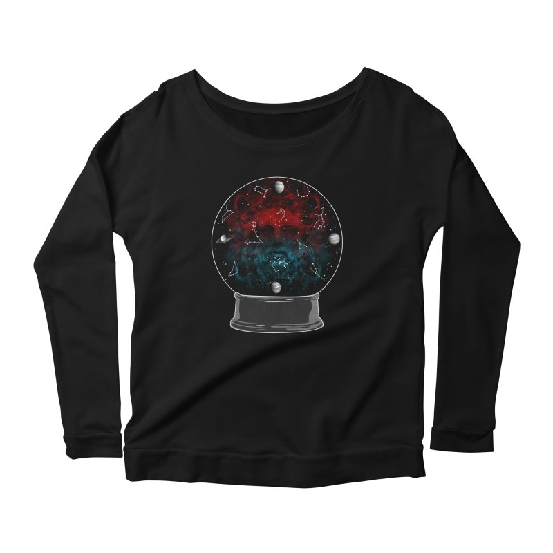 Star Gazing Women's Scoop Neck Longsleeve T-Shirt by Tentimeskarma