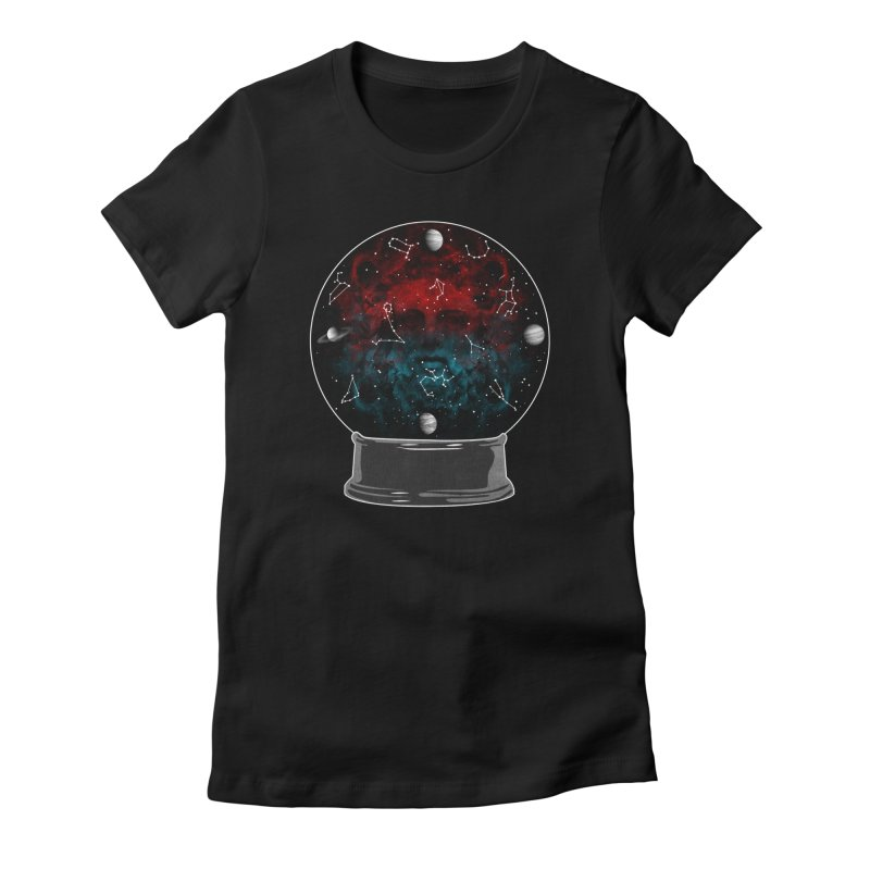 Star Gazing Women's Fitted T-Shirt by Tentimeskarma