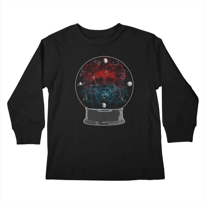 Star Gazing Kids Longsleeve T-Shirt by Tentimeskarma