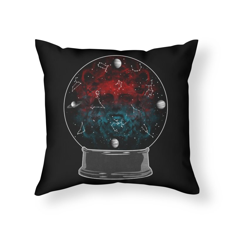 Star Gazing Home Throw Pillow by Tentimeskarma