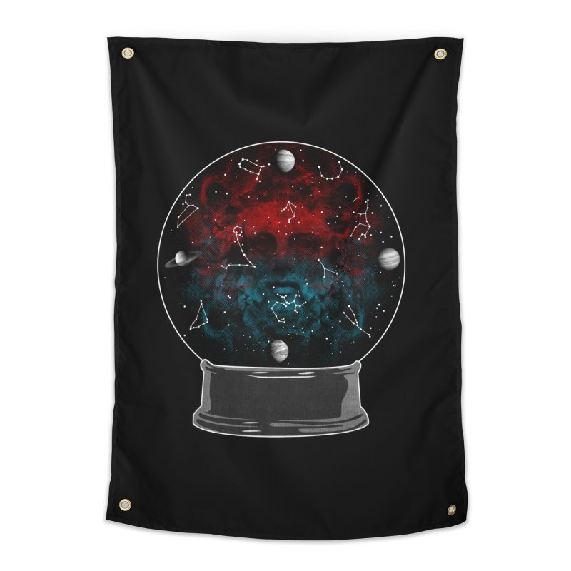 Star Gazing Home Tapestry by Tentimeskarma
