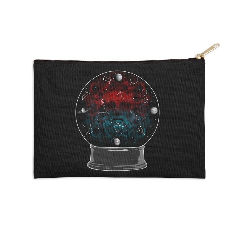 Star Gazing Accessories Zip Pouch by Tentimeskarma
