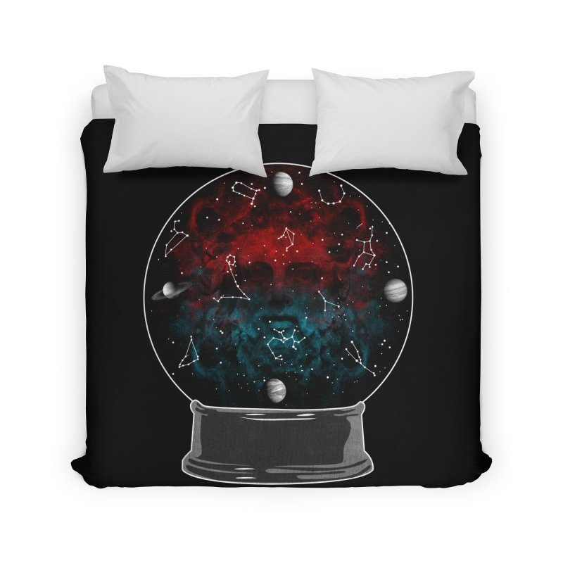 Star Gazing Home Duvet by Tentimeskarma
