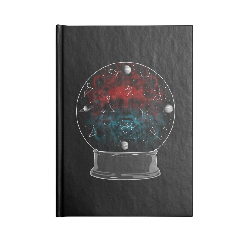 Star Gazing Accessories Lined Journal Notebook by Tentimeskarma