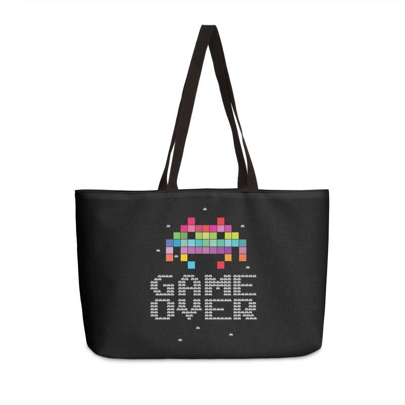 We Come In Peace Accessories Weekender Bag Bag by Tentimeskarma