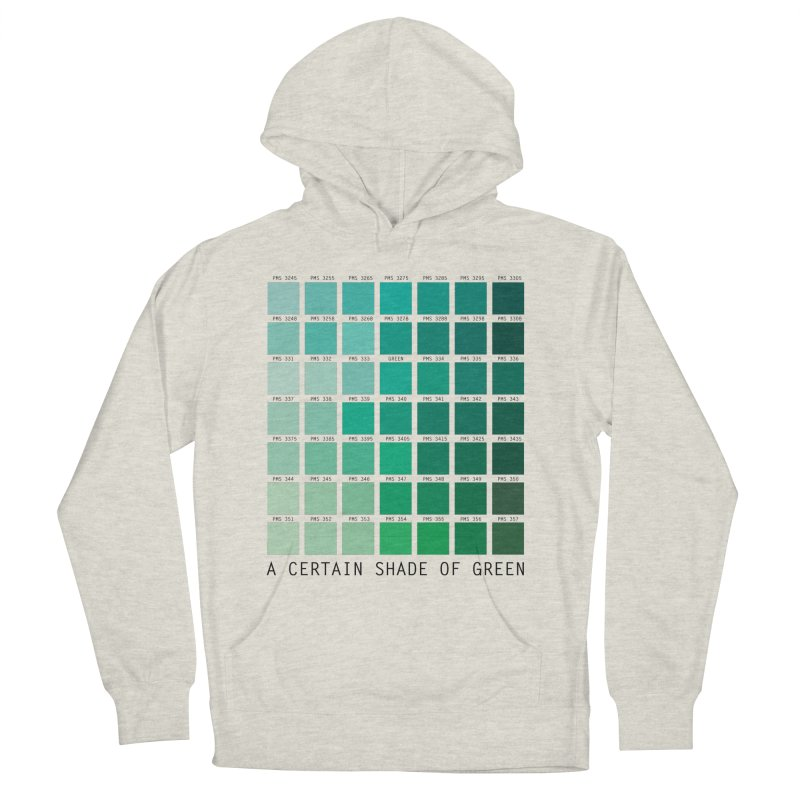 A Certain Shade of Green Men's Pullover Hoody by Tentimeskarma