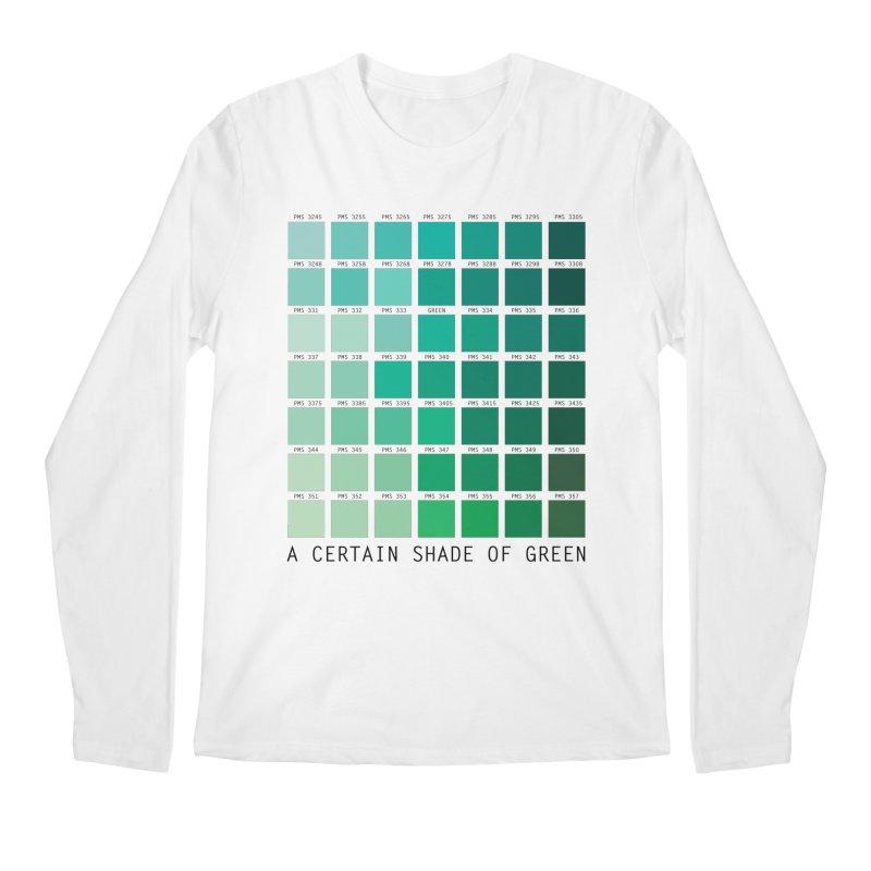 A Certain Shade of Green Men's Longsleeve T-Shirt by Tentimeskarma