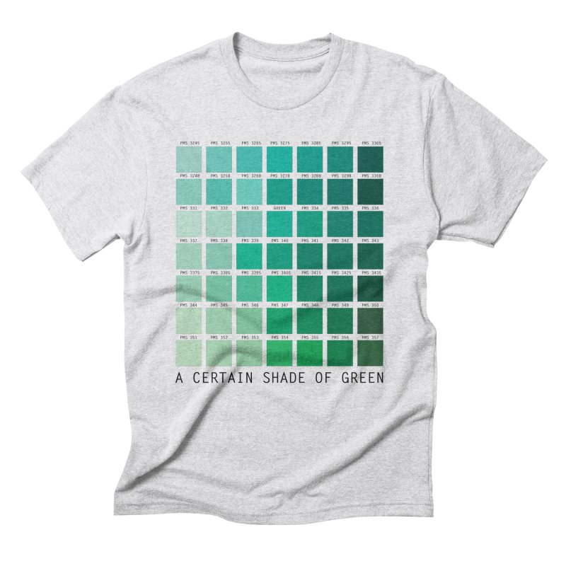 A Certain Shade of Green Men's Triblend T-Shirt by Tentimeskarma