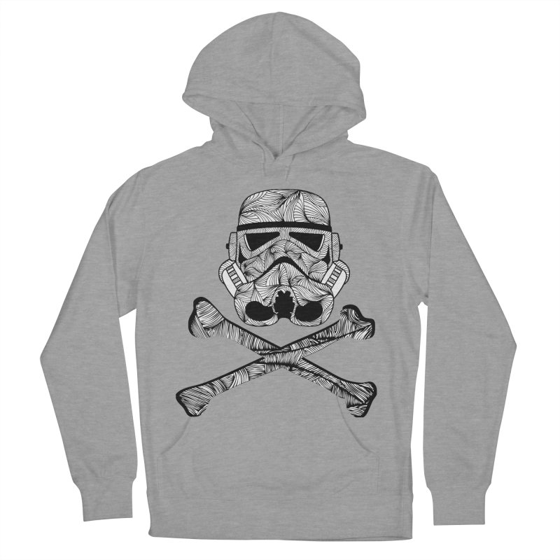Skulltrooper Men's French Terry Pullover Hoody by Tentimeskarma