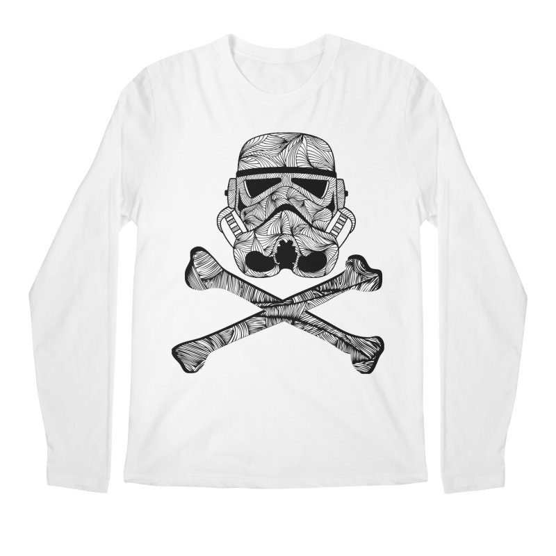 Skulltrooper Men's Regular Longsleeve T-Shirt by Tentimeskarma