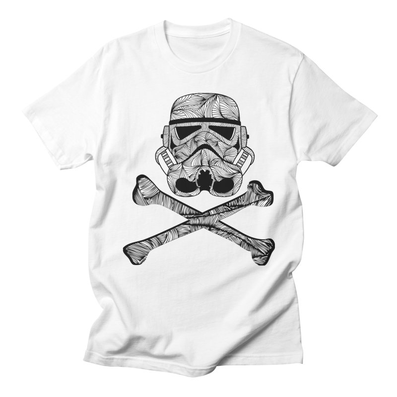Skulltrooper in Men's T-Shirt White by Tentimeskarma