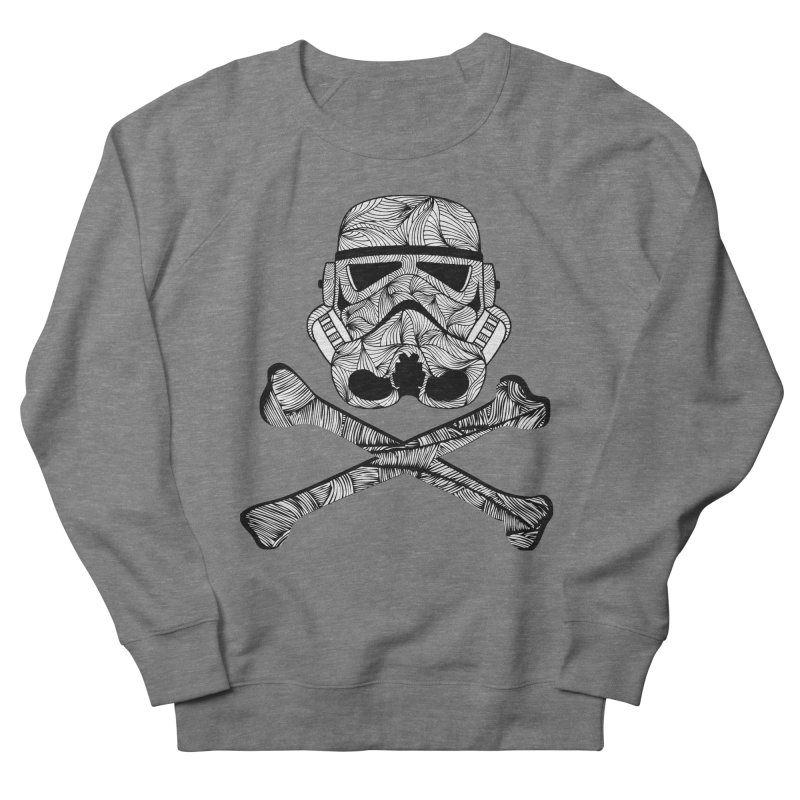 Skulltrooper Men's French Terry Sweatshirt by Tentimeskarma