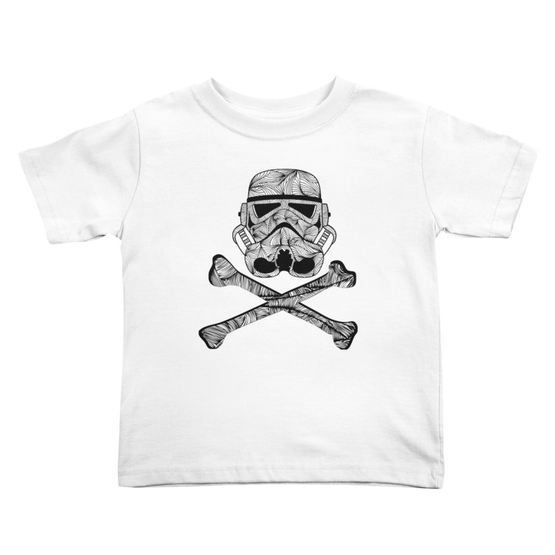Skulltrooper Kids Toddler T-Shirt by Tentimeskarma