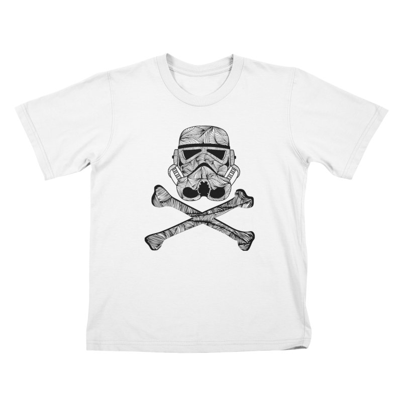 Skulltrooper Kids T-Shirt by Tentimeskarma