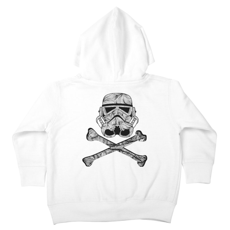 Skulltrooper Kids Toddler Zip-Up Hoody by Tentimeskarma
