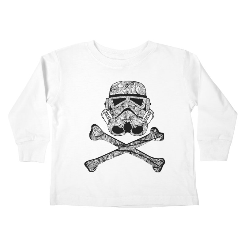 Skulltrooper Kids Toddler Longsleeve T-Shirt by Tentimeskarma