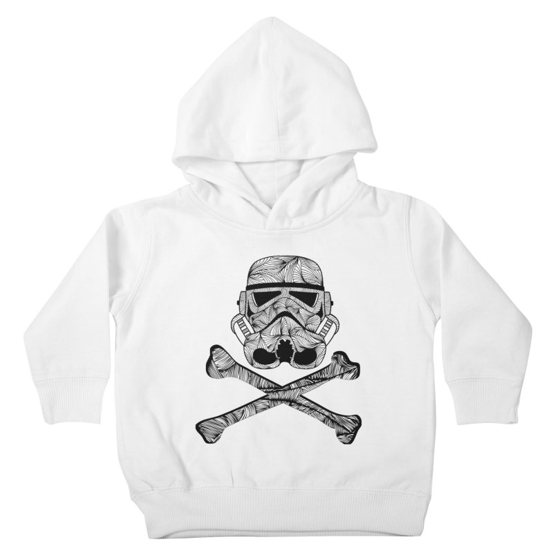 Skulltrooper Kids Toddler Pullover Hoody by Tentimeskarma