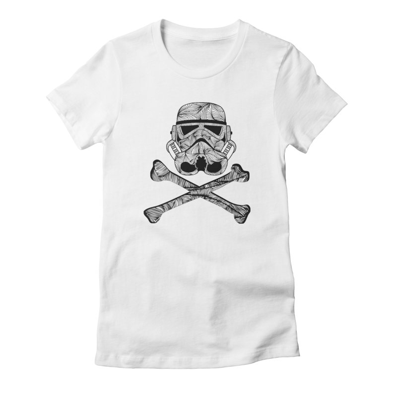 Skulltrooper Women's T-Shirt by Tentimeskarma