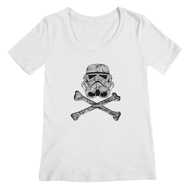Skulltrooper Women's Regular Scoop Neck by Tentimeskarma