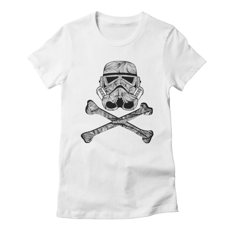 Skulltrooper Women's Fitted T-Shirt by Tentimeskarma