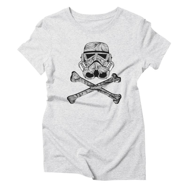 Skulltrooper Women's Triblend T-Shirt by Tentimeskarma