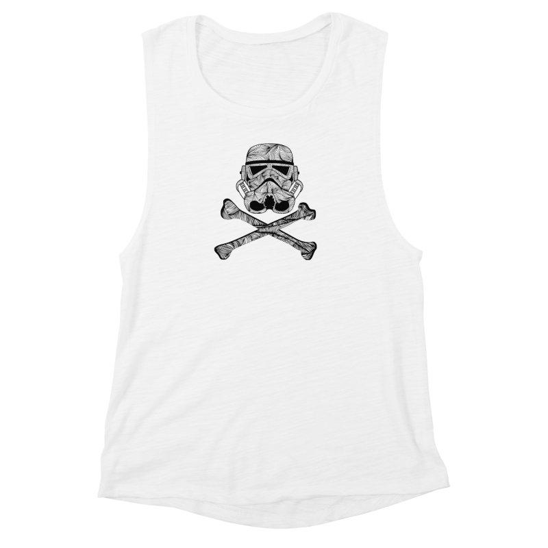 Skulltrooper Women's Tank by Tentimeskarma