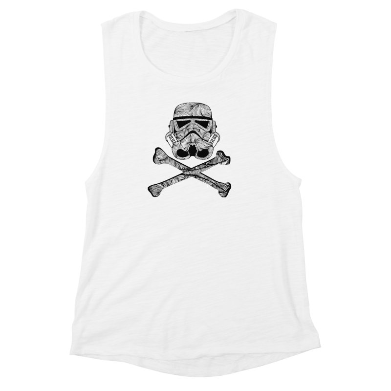 Skulltrooper Women's Muscle Tank by Tentimeskarma